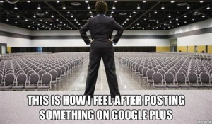 Google Plus Joke